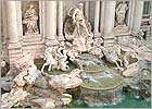A picture of the Trevi Fountain in Rome (Italy)