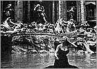 A Trevi Fountain's picture from 'La Dolce Vita' of Federico Fellini
