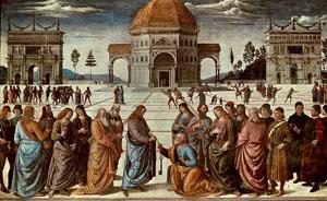 Perugino - Lo Sposalizio della Vergine (The Marriage of the Virgin)