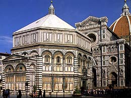 The Baptistery of San Giovanni in Florence, Italy - Exterior view