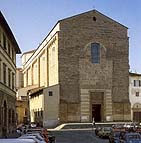 Church of Santa Maria del Carmine in Florence, Italy - Exterior