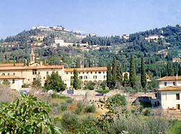 View of Fiesole, Italy