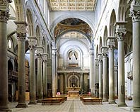 Church of San Lorenzo - Florence, Italy - Interior