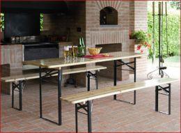 Panche E Tavoli Da Esterno.Tavoli Sedie Ombrelloni Mobili Da Giardino